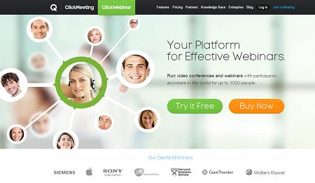 ClickWebinar créer un webinar