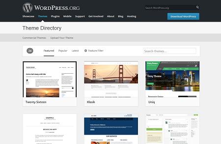 Créer blog wordpress