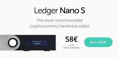 Sécuriser bitcoin ledger nano walet