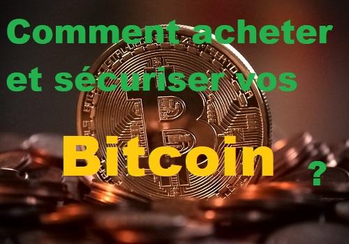 Acheter des bitcoins et autres cryptomonnaies
