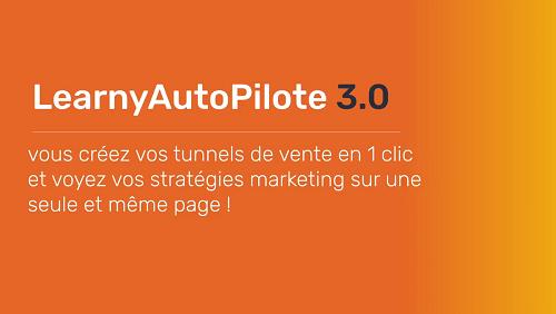 LearnyAutoPilot3.0 tunnel de vente en un clic