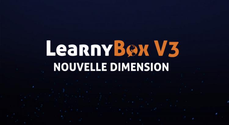 Learnybox V3 nouveautés Vidéo