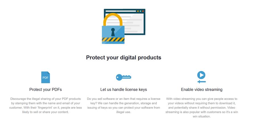 SendOwl proteger et vendre vos ebooks