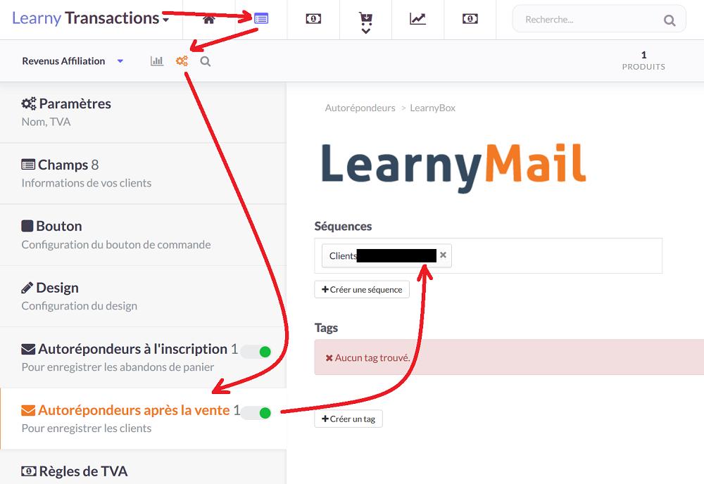 créer un formulaire de paiement Learnypay