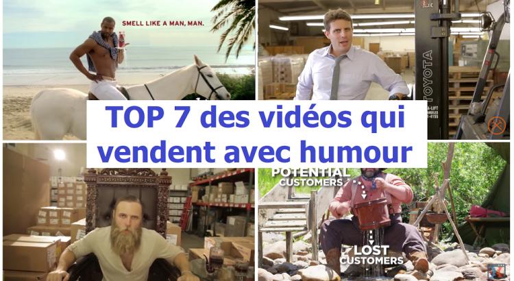 Top 7 vendre avec humour en vidéo