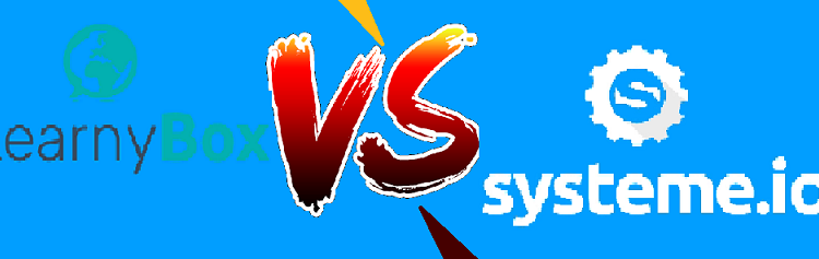 Learnybox Vs Systeme.io choisir comparatif